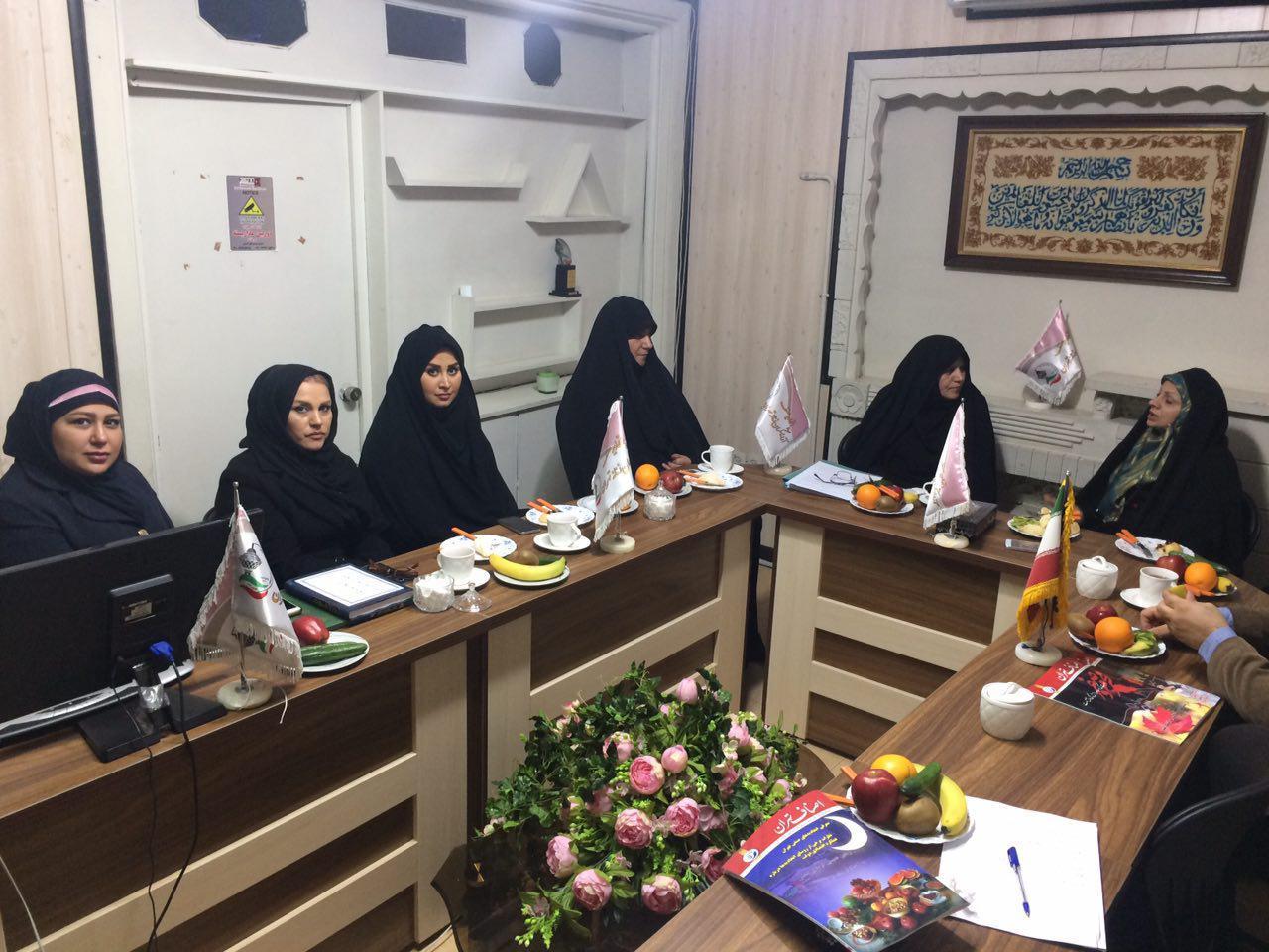 گزارش تصویری از بازدید دكتر شارقي مدير كل أمور بانوان ومشاور استاندار تهران