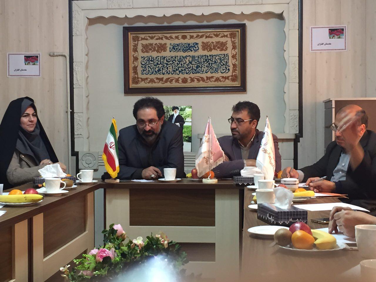 گزارش تصویری از نشست هيّئت مديره اتحاديه با مسئولين ورياست بازرسي اصناف